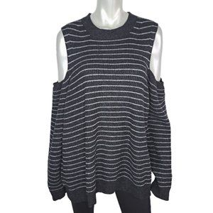 Lucky Brand Cold Shoulder Sweater Plus Size 3X